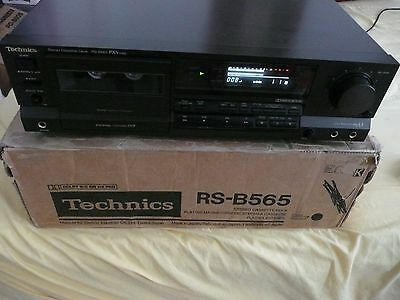 Technics RS-B565 Cassette Deck with 43 high quality cassettes