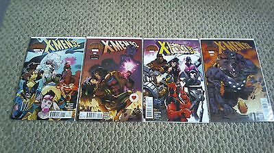 X-Men '92 #1-4 Complete Series Set Lot Run  #1 2 3 4 Marvel 2015  /890/