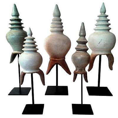 Selection of Thai Stupa Finial Details
