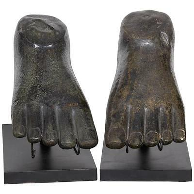 Indonesian River Stone Foot Sculpture