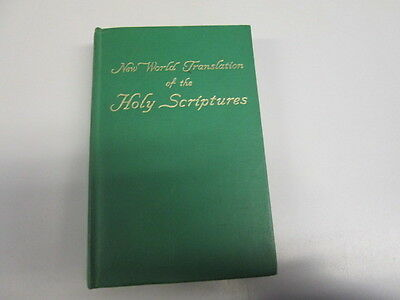Acceptable - New World Translation of the Holy Scriptures - New World Bible Tran