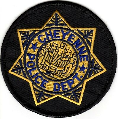 Cheyenne Police Department Wyoming WY patch NEW
