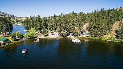 Fisherman's Cove Resort Lake Curlew Republic Washington 30 Acres Waterfront
