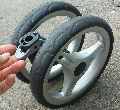 Baby Jogger Front Swivel Replacement Wheels Tires Part For City Mini