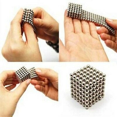 3mm Magnetic Bucky Balls Magnet Spacer Beads Cube Kids Child Adult DIY Toys