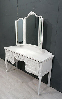 Shabby Chic French Dressing Table (BR329)