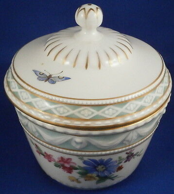 KPM Berlin Porcelain Kurland Pattern Decor 41 Sugar Dish Porzellan Zuckerdose
