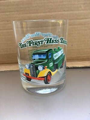 Hess The First Hess Truck Glass 1996 Near Mint Condition