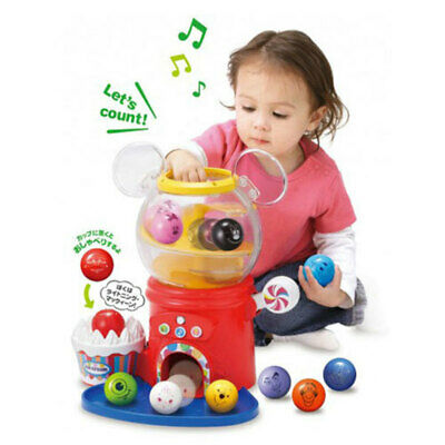 TOMY Disney Pixar Characters Play/Learn Ball Tower/Toy/Toddler/Kids Game/1yr+
