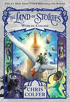 The Land of Stories: Worlds Collide 6 by Chris Colfer (2018, Paperback)