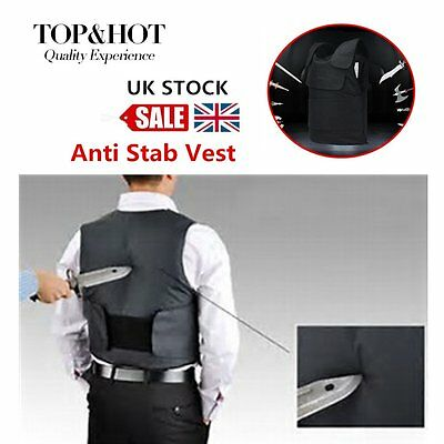 Tactical Vest Stab vests Anti Tool Self-Defense Outdoor Vest Supplies Black BG