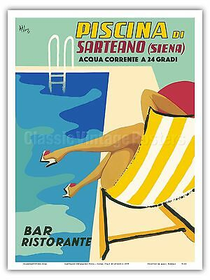 TV33 Vintage 1925 Italian Italy Siena Sienna Travel Poster Re-Print A1 A2 A3