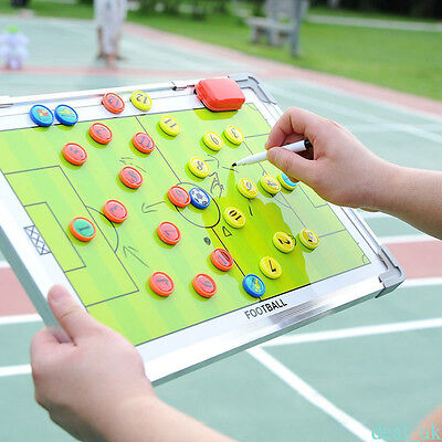 Soccer Football Tactical Coaching coaches Board Aluminum alloy magnetic plate