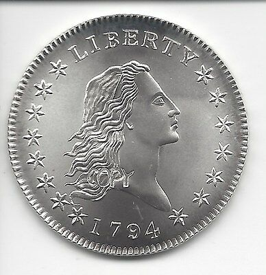 Gallery Mint Museum 1794 Flowing Hair Half Dollar Silver Coin