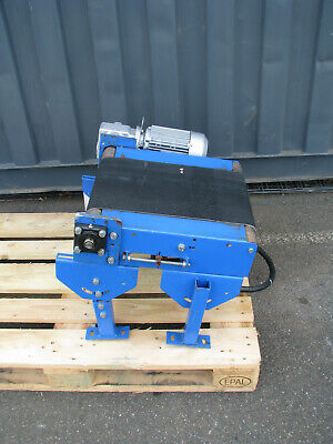 Small Motorised Conveyor - 0.5m long Blue 2