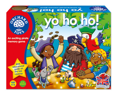 NEW Yo Ho Ho! Pirates Game by Orchard Toys from Purple Turtle Toys