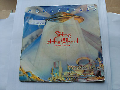7'' The Moody Blues - Sitting At The Wheel - Threshold Spain 1983 Vg
