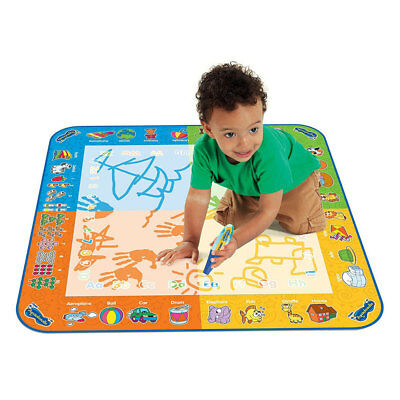 TOMY Aquadoodle Water Colour Drawing/Playmat/Toy/Kid/Children/Toddler/Activity