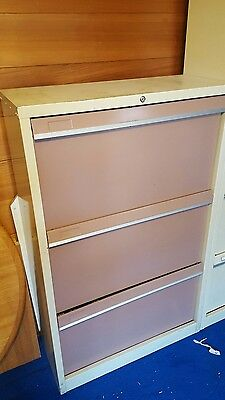 Lateral 3 Drawer Filing Cabinet Metal