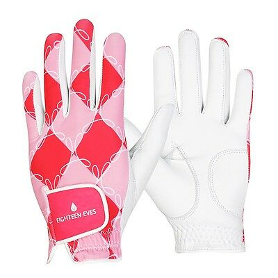 Ladies Golf Glove Cabreatta Leather -  The Pink Lady