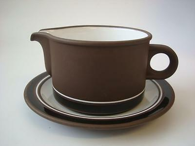 Hornsea Contrast Gravy Boat And Stand