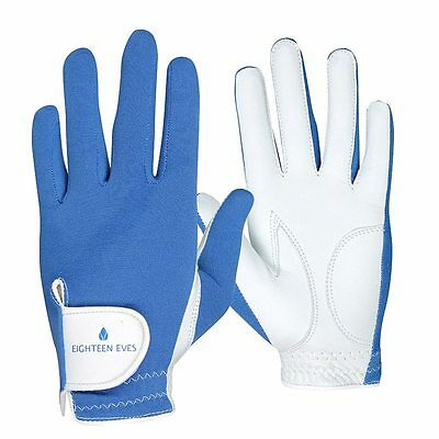 Ladies Golf Glove Cabreatta Leather -  Be Bold Blue