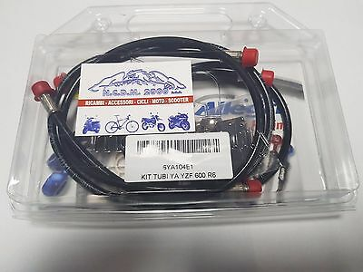 Kit Tubi Freno Ant. E Post.  Yamaha Yzf R6 600 2007
