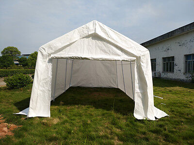 3 x 6m Portable Garage Gazebo Shelter Awning Marquee Cover Shed Carport Tent Car