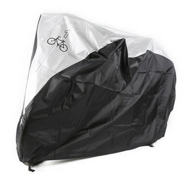 Bike Cover Nylon UV Snow Waterproof Bicycle Outdoor Rain Protector for 1 Bikes