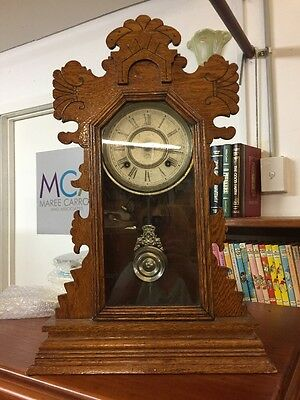 Vintage Ansonia Clock With Key