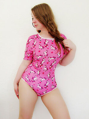 "Adult Size ""baby Grow"" Based On The Adult Diaper / Nappy Dotty The Pony Pink"
