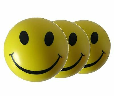 Smiley Stress Balls (Set of 3) - Relief from stress ADHD Autism ONLY £1.98 EACH