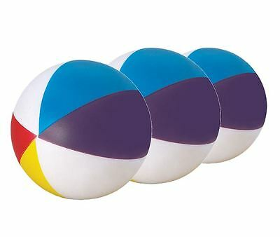 3 x Beach Ball Stress Balls – Great For  ADHD SEN & PTSD