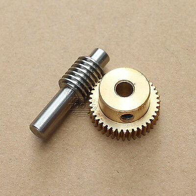 0.5 Modulus 20 to 60 Teeth Worm Gear and Shaft Drive Gearbox - Select Size