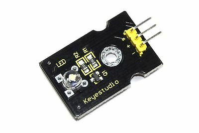 Keyestudio 5mm White Straw Hat LED Module KS0017 Helmet Arduino Flux Workshop