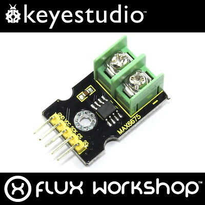 Keyestudio MAX6675 Thermocouple Interface KS0169 K-Type Temp SPI Flux Workshop