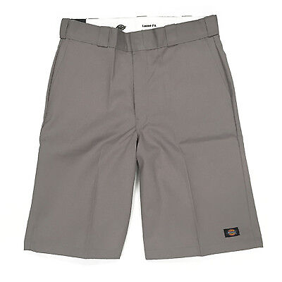 Dickies 13 Inch Loose Fit Multi-Use Pocket Work Shorts Silver Authentic FREE ...