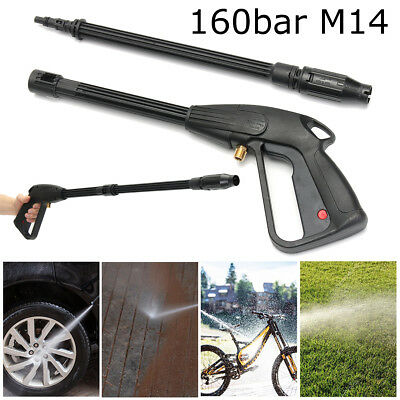 High Pressure Washer Spray Gun Lance Trigger 160 bar Jet Wash Water Gun for Car