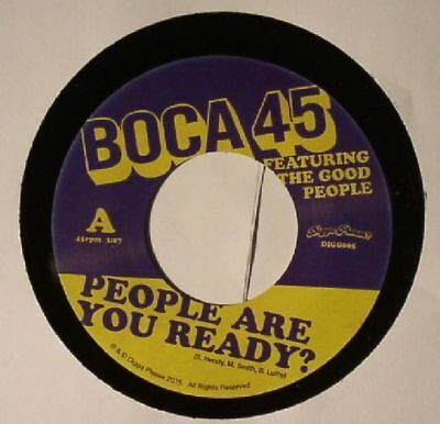"BOCA 45 feat THE GOOD PEOPLE - People Are You Ready? - Vinyl (7"")"