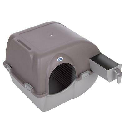 Roll And Clean SELF-CLEANING Litter Tray Box Hygienic Pet Cat Toilet Training