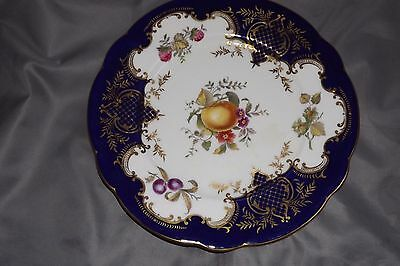 "Antique Coalport Hand Painted 10"" Dinner plate for Gillmam & Collmore New York"