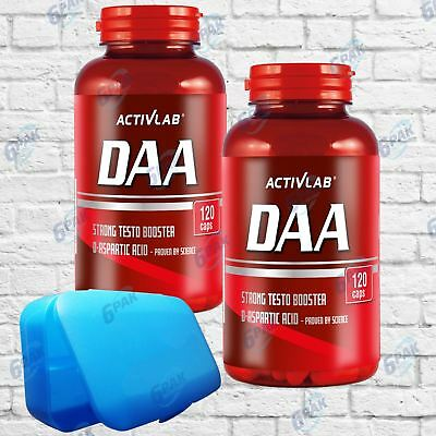 Activlab DAA 1000 mg D-aspartate Testosterone Booster 120 caps