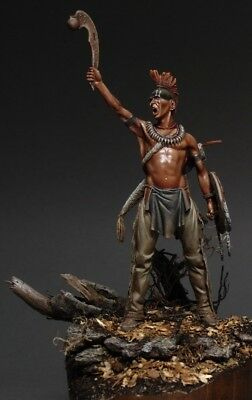 Tin soldier, museum, Pawnee Warrior, Indian, Native Americans, Oklahoma, 75 mm
