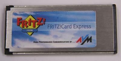 AVM Fritz Card ISDN Express, Fritz!Card Notebook ISDN
