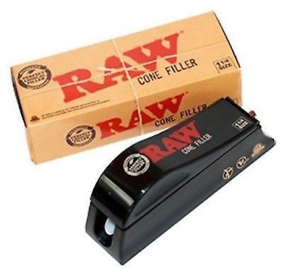 Raw Natural Rolling Papers Cone Filler - Cone Shooter Machine 1 1/4 Size