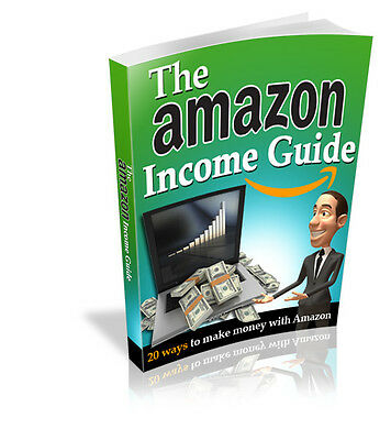THE AMAZON INCOME GUIDE E-BOOK + Resell rights​ + Bonuse books + FREE SHIPPING