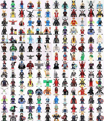 Marvel Superhero all character Collection Funny Toys Minifigure fit with Lego