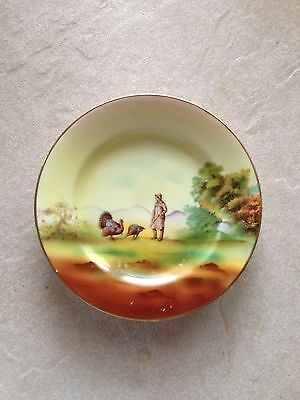 "Royal Bayreuth Turkey Man 6"" Plate"