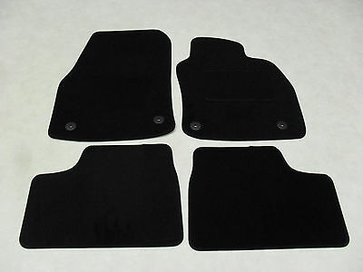 Vauxhall Astra 2005-2009 Twin Top. Fully Tailored Deluxe Car Mats in Black