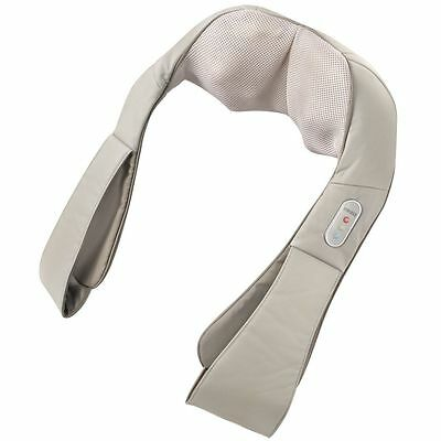HoMedics Shiatsu Deluxe Heated Neck And Shoulder Massager Deep Kneading New